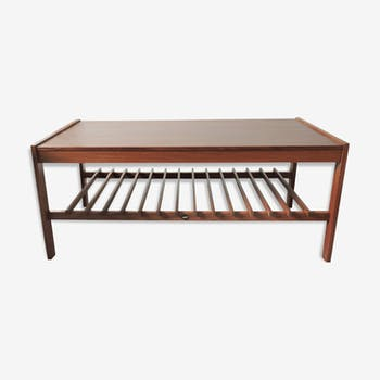 Mid-century teak slatted coffee table by Myer, 1960