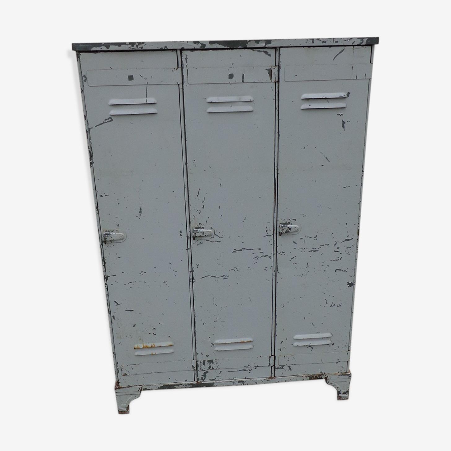 Vestiaire industriel 3 portes strafor