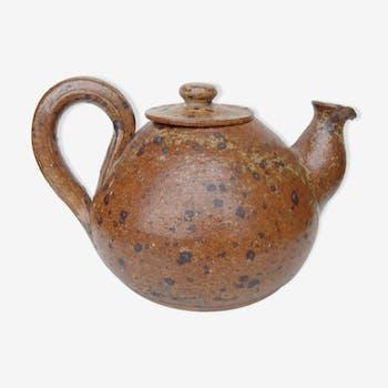 Guy Baudat pyrite stoneware teapot