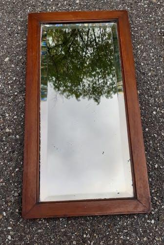 Miroir verre biseauté 1930