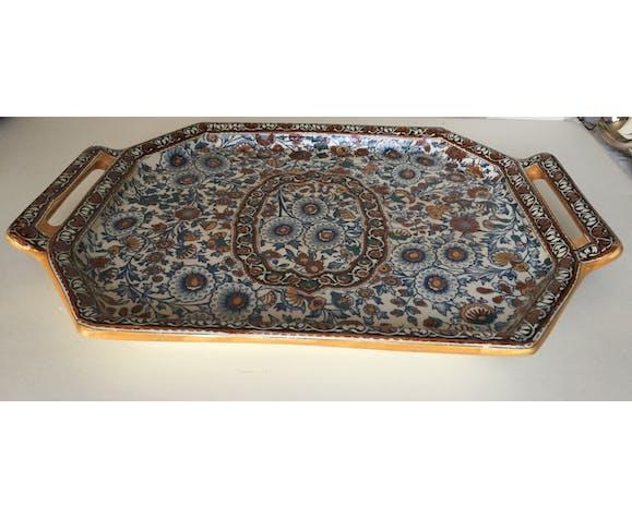 GIEN earthenware tray