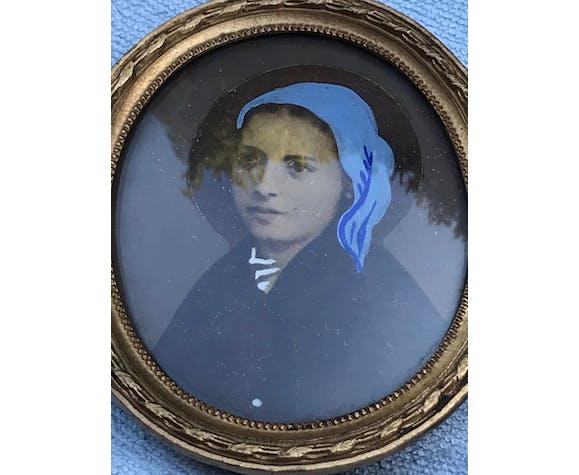 Miniature portrait de femme