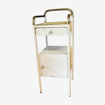 Boarding school years 50 metal bedside