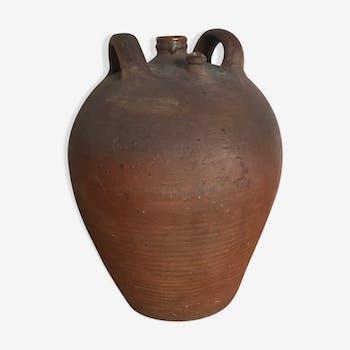 Vinaigrier ancien, poterie