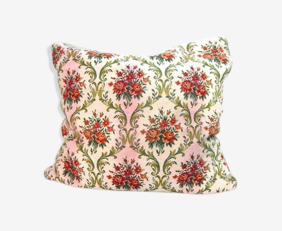 Coussin floral vintage