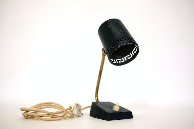 Lampe de chevet ou applique bleue nuit