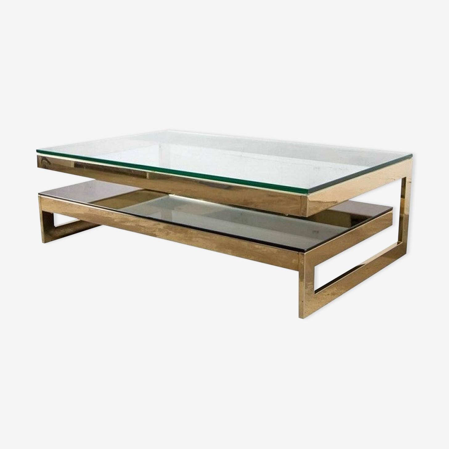 Coffee table Belgo Chrome G 1970