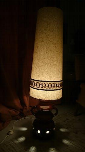 Lampe à poser en céramique années 70