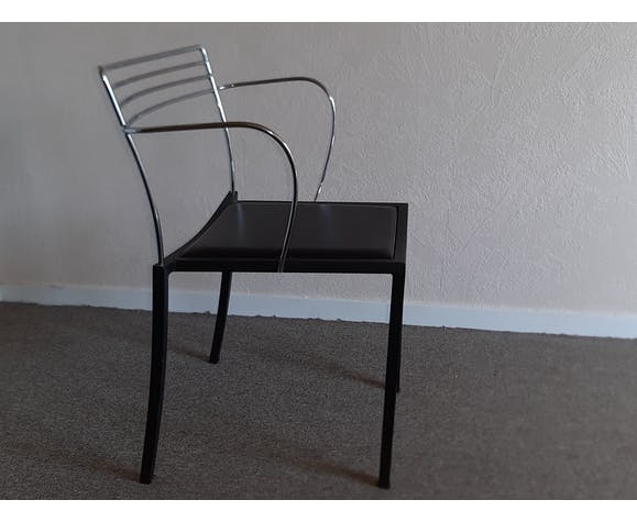 """Paire de fauteuils Pascal Mourgue modèle """"Piccolo"""" pour Fermob année 1990"""