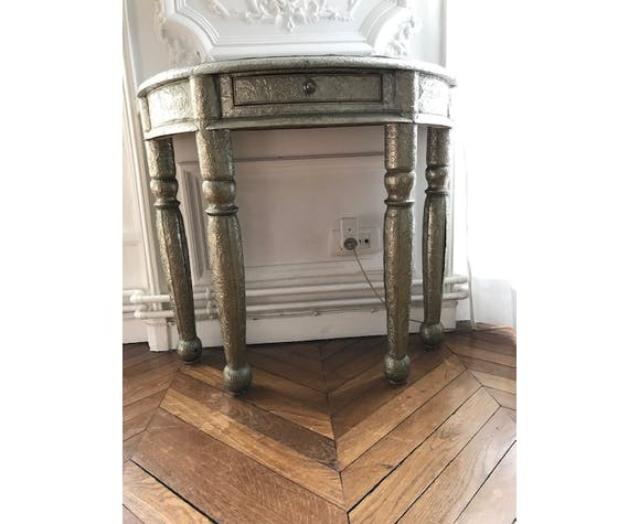 Console/dressing table half moon