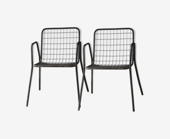 """Pair of armchairs """"Rio"""" by Emu from the 1960"""