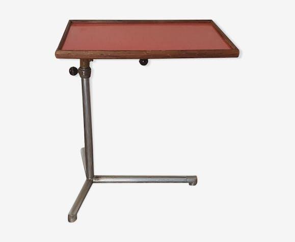 Table console de lit ou de malade 1950