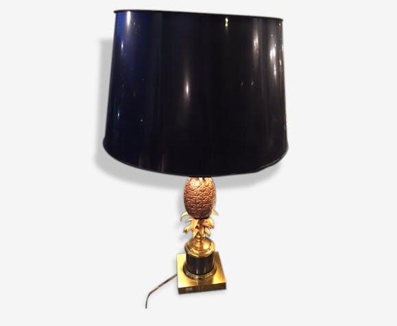 Lampe Ananas Charles Brass Golden Art Deco 144536