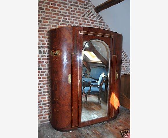 Chambre A Coucher Art Deco Bois Materiau Art Deco 114692