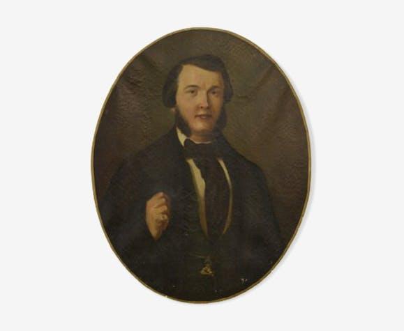 Portrait in oil - 1860