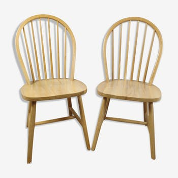 2 chaises windsor