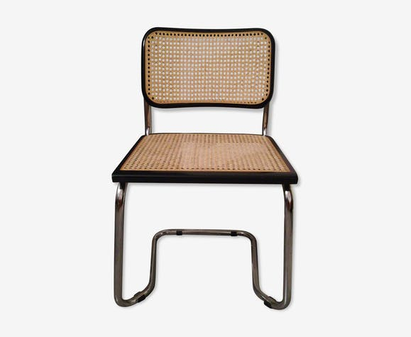 chaise tubulaire scandinave 80