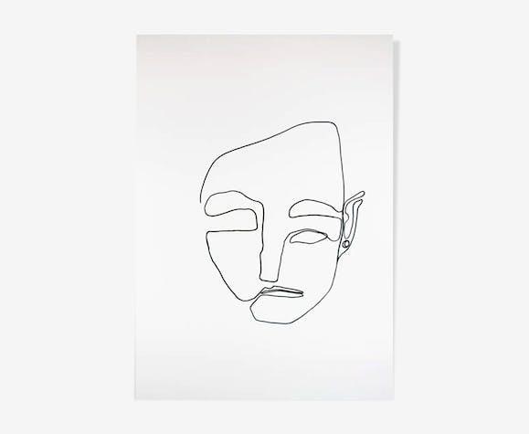 Poème #2  50x70cm
