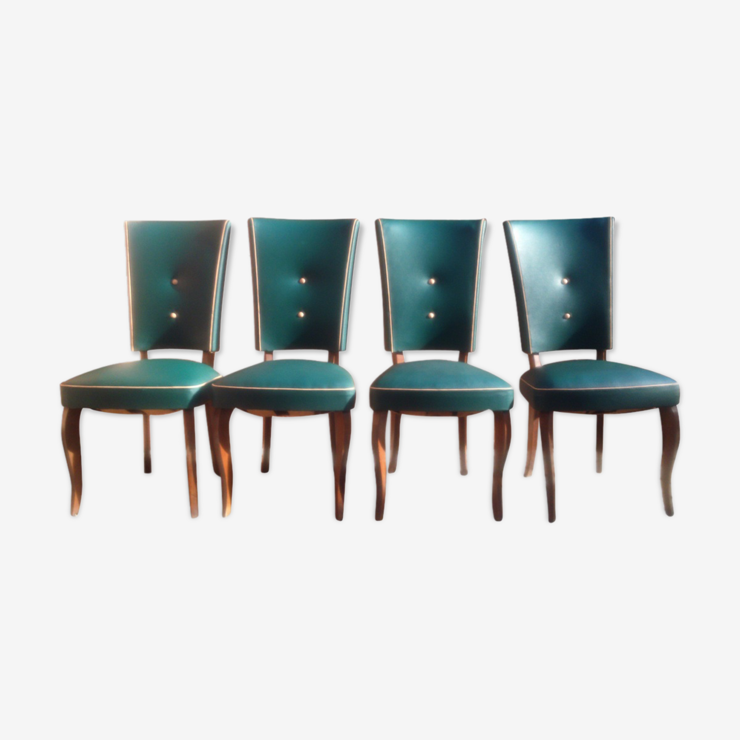 Suites de 4 chaises vintage