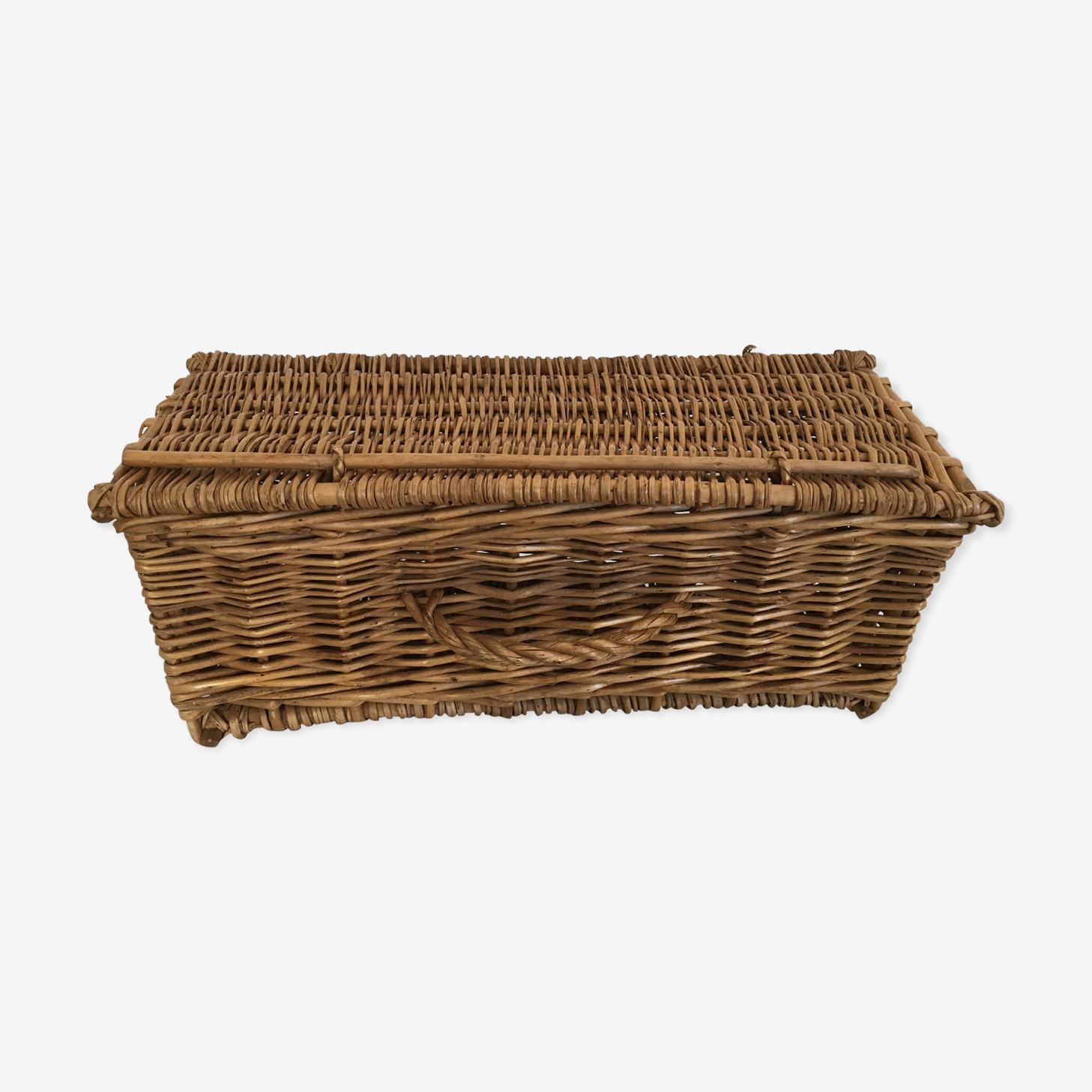 Basket fisherman rectangular 1960 trunk