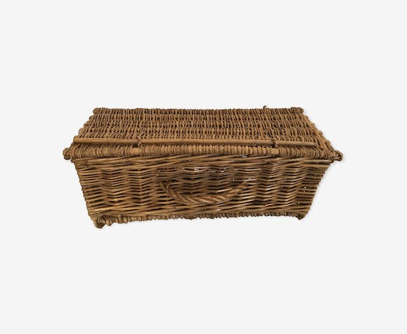 Basket fisherman rectangular 1960 trunk
