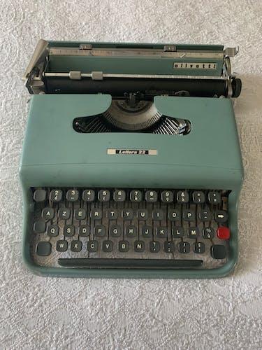 Olivetti typewriter 1960