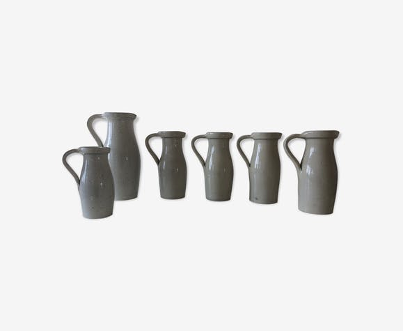 Lot of ceramic pitchers