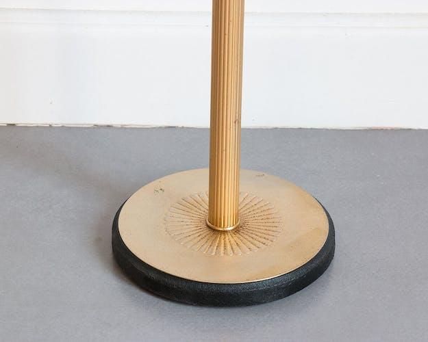 Cendrier sur pied doré
