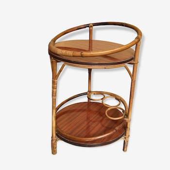 bar tugas bois mat riau marron vintage 164703. Black Bedroom Furniture Sets. Home Design Ideas