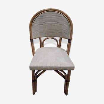 Chaise en rotin modèle Amiral