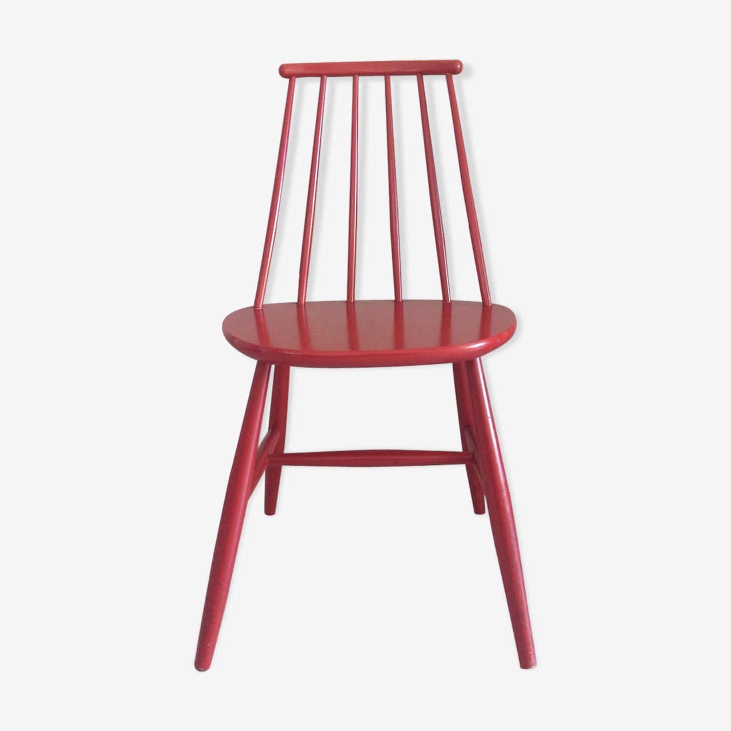 Wooden chair  scandinavian style
