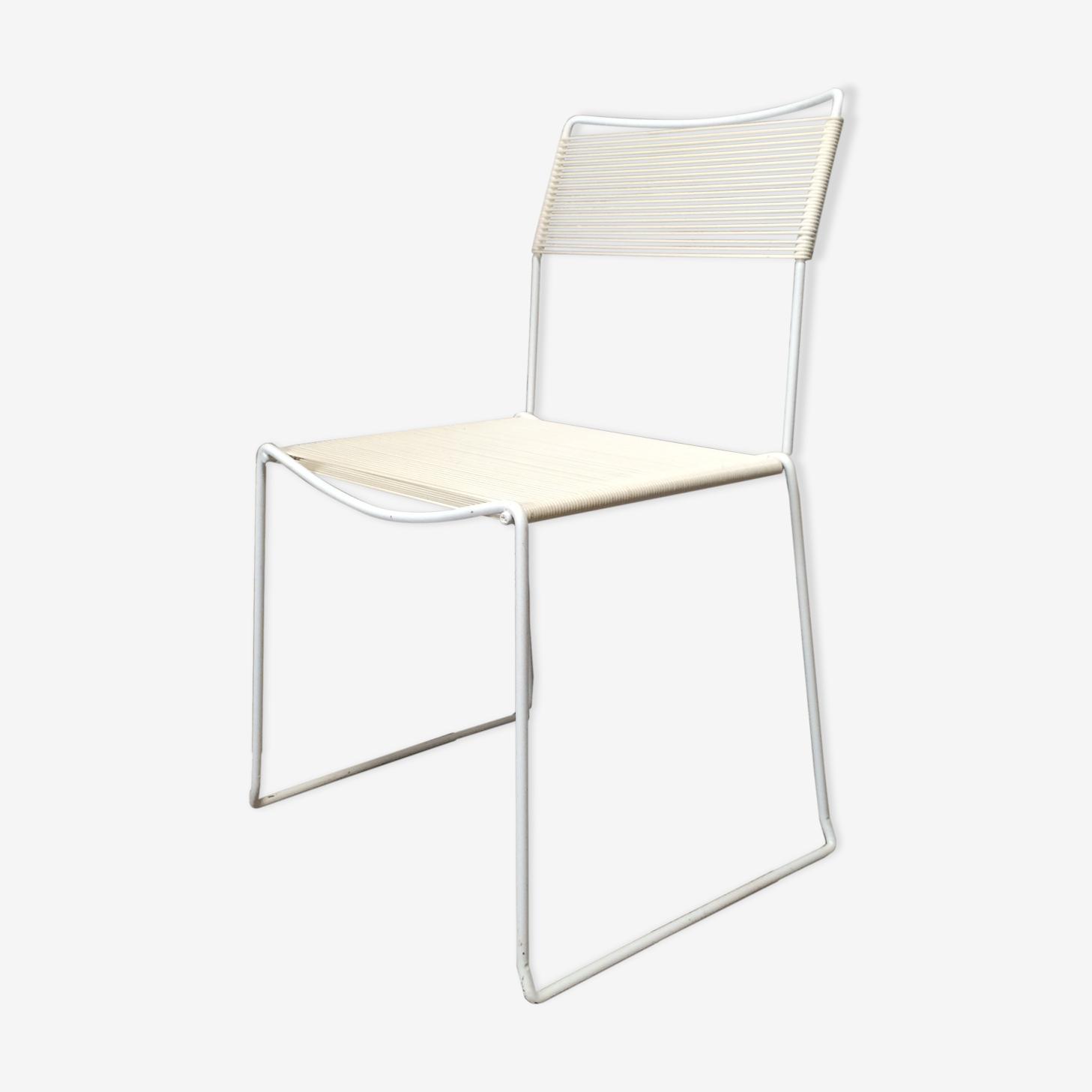 Spaguetti scoubidou vintage Chair