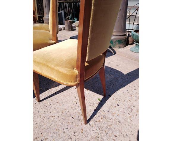 Six chaises design 1960