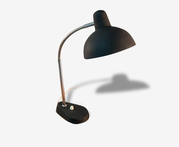 Lampe De Chevet Bureau Noire Vintage Metal Noir Vintage 149743