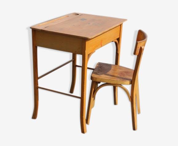 Bureau et chaise Baumann modèle enfant