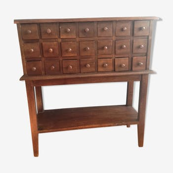 Old apothecary dresser early 20th century