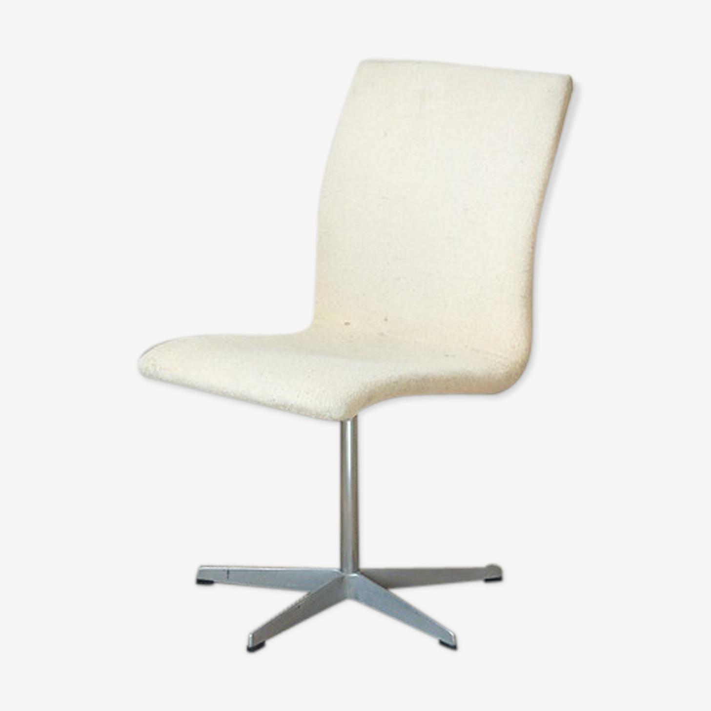 Chaise scandinave Oxford design A. Jacobsen édition vintage Fritz Hansen