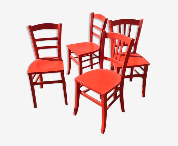 Set of 4 bistro chairs