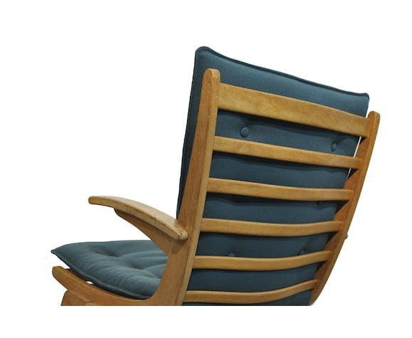 Oak armchair by Jan den Drijver for de Ster Gelderland, 1950s
