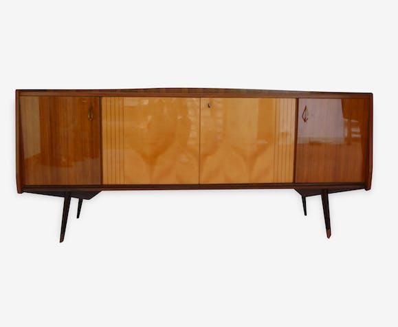 Enfilade ou meuble bas salle à manger 1960 - bois (Matériau ...
