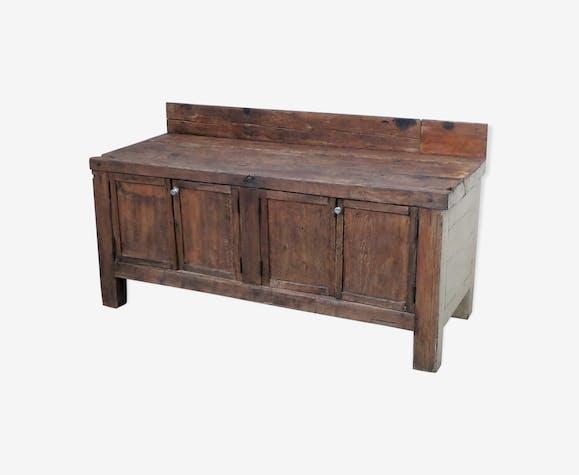 Ancienne table de boucher