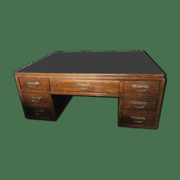 Table basse style asiatique - bois (Matériau) - bois (Couleur ...