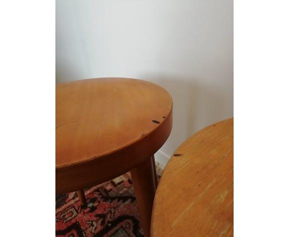 Pair of Baumann stools
