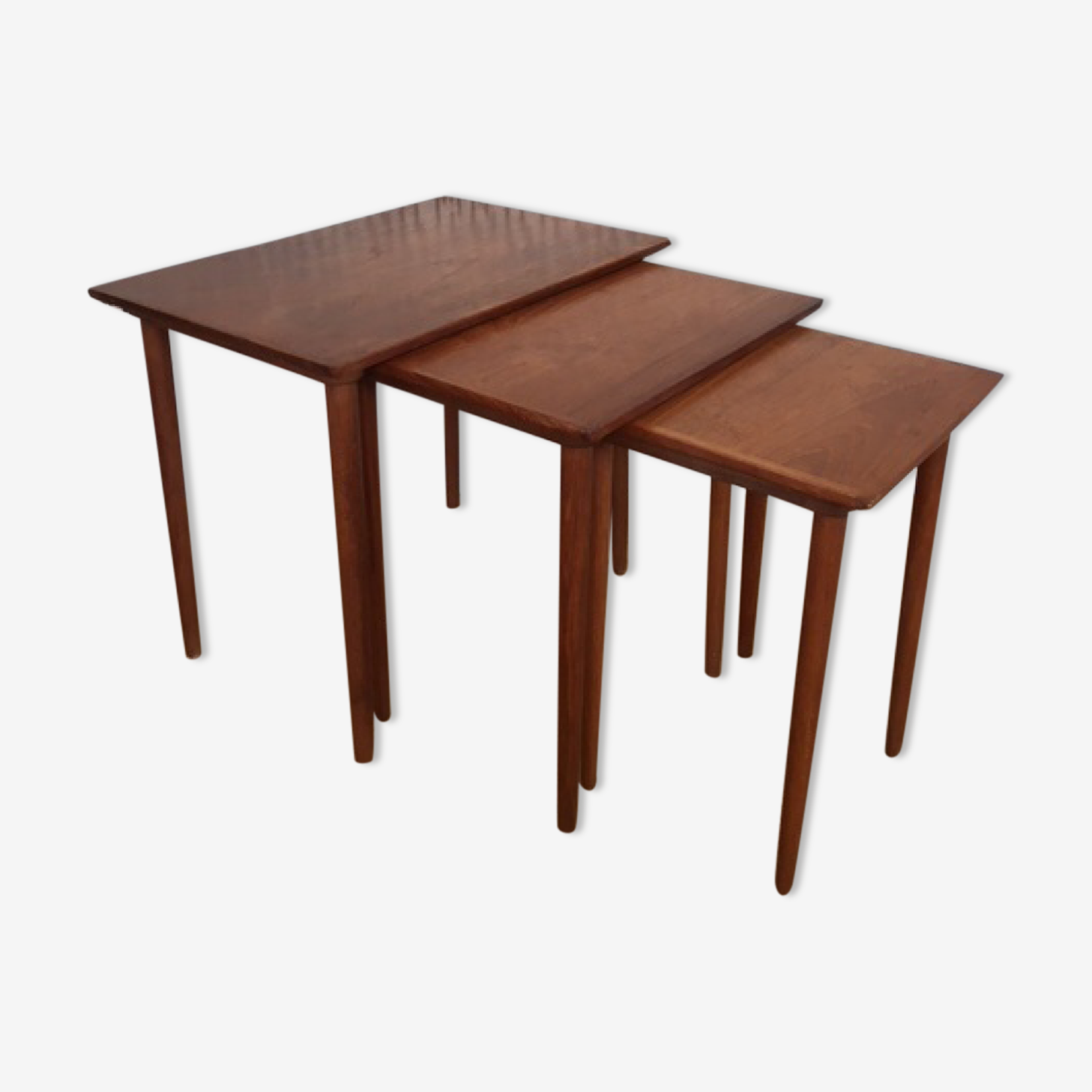 Scandinavians Andersen for Samcom nesting tables