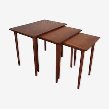 Tables gigognes scandinaves Andersen pour Samcom