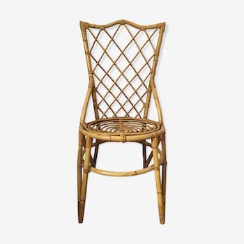 Chair rattan 60's