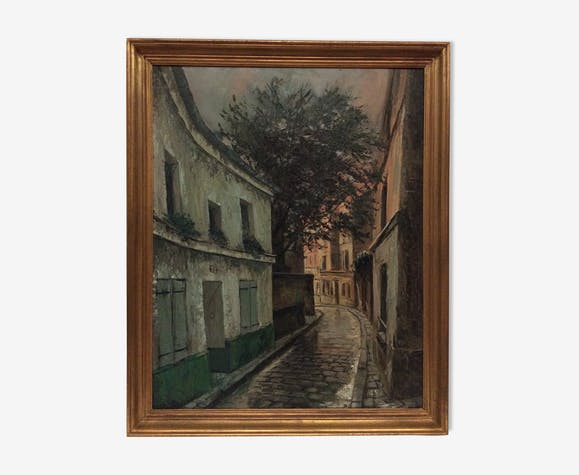 Paul Gabriel Hubert (1929) huile sur toile