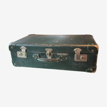 Authentic vintage suitcase full of charm