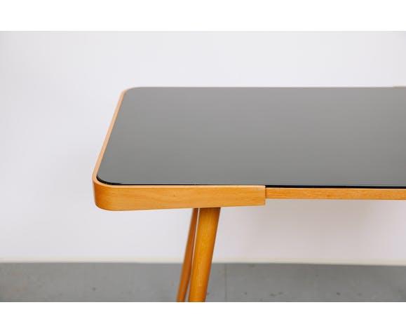 Table basse supérieure en verre
