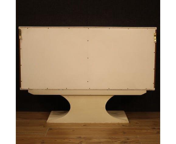 Enfilade de conception italienne en bois de noyer